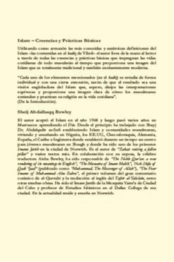 libro creencias y prácticas básicas en el islam