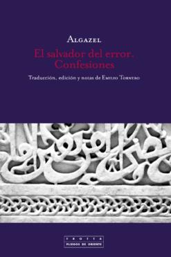 Libro islámico algazel, el salvador del error