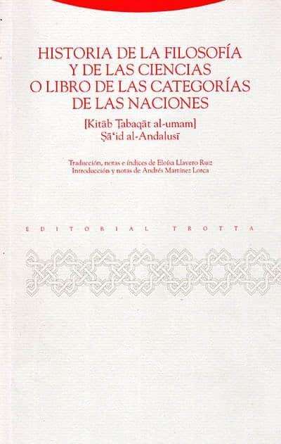 libro de la historia de la filosofía y de las ciencias